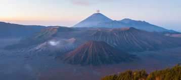 Bromo Mountain, Indonesia Stock Image