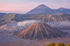 Bromo mountain in the morning Stock Image