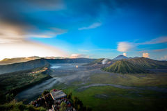 Bromo. Mountain volcano in indonesia Stock Photography