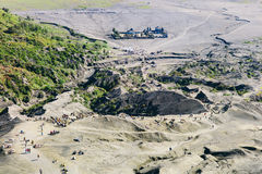Bromo moutain top view Stock Images