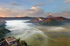 Bromo. Mt.Bromo Paradise of trekking Royalty Free Stock Images