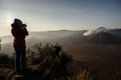 Bromo. Photo session from Java. Semero lawang, bromo Stock Photo