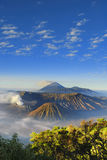 Bromo Portscape Royalty Free Stock Photography