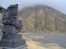 Bromo sculpture. Hindu sculpture close to Bromo crater Stock Photography