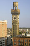 Bromo-Seltzer Clock Tower, Royalty Free Stock Photography