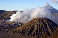 Bromo and Sumeru Royalty Free Stock Photo