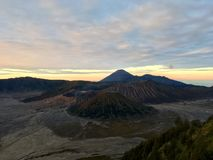 Bromo Sunrise Stock Photography