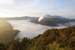 Bromo-Tengger-Semeru national park on the island of Java Royalty Free Stock Photos