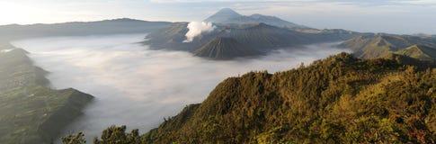 Bromo-Tengger-Semeru national park on the island of Java. Indonesia Stock Photos
