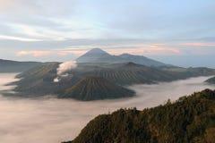 Bromo-Tengger-Semeru national park on the island of Java Stock Image