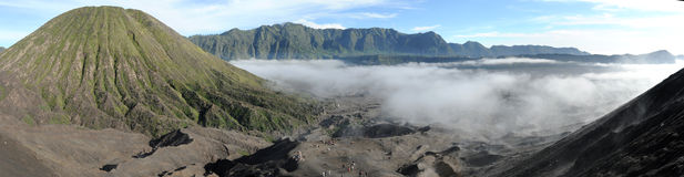 Bromo-Tengger-Semeru national park on the island of Java Stock Photography