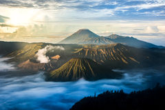 Bromo Tengger Semeru National Park, Java, Indonesia Stock Photo