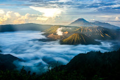 Bromo Tengger Semeru National Park, Java, Indonesia Royalty Free Stock Images