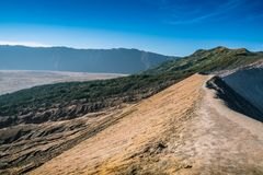 Bromo-Tengger-Semeru park narodowy, Indonezja Obrazy Stock