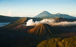 Bromo, un volcan actif en Indonésie, ilsand de Java Image stock