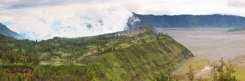 Bromo Village Indonesia Royalty Free Stock Photo