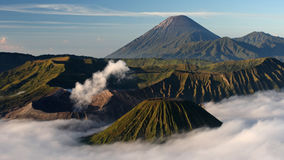 Bromo volcano , East Java , Indonesia Stock Photos