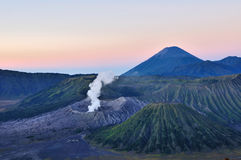 Bromo Volcano. National park in Indonesia royalty free stock image