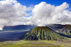 Bromo volcano in Indonesia Royalty Free Stock Image