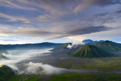 Bromo volcano in Indonesia Stock Images