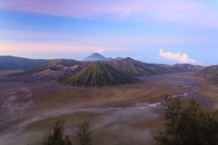 Bromo Volcano Mountain Royaltyfria Foton