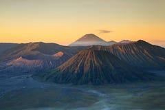 Bromo Volcano Mountain Royaltyfria Bilder