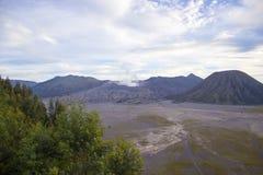 Bromo Volcano Mountain Royaltyfri Fotografi