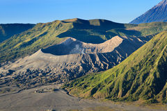 Bromo Volcano Mountain i Indonesien Royaltyfria Bilder