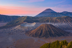 Bromo volcano mountain landscape in the morning Stock Photography