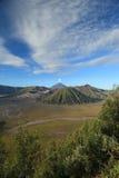 Bromo Volcano Mountain in Tengger Semeru Stock Images