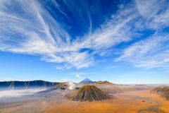 Bromo volcano at sunrise, East Java, Indonesia Royalty Free Stock Photography