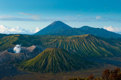 Bromo volcano at sunrise, Java, Indonesia Royalty Free Stock Photo