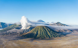 Bromo volcano , Tengger Semeru National Park, East Java, Indones Stock Photography