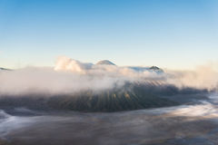 Bromo volcano ,Tengger Semeru National Park, East Java, Indonesi Royalty Free Stock Image