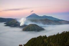 Bromo volcano. Tengger Semeru National Park, East Java, Indonesia Stock Images