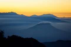 Bromo volvano in Indonesia Stock Photo
