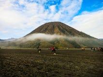 Bromo vulkan Fotografering för Bildbyråer