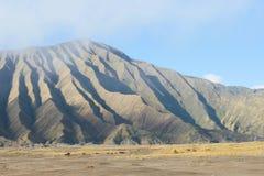 Bromo vulkan från indonesia Arkivfoto