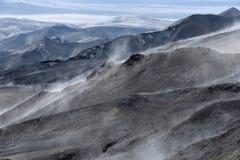 Bromo vulkan i Indonesien Royaltyfri Fotografi