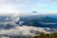 Bromo vulkan i Indonesien Royaltyfri Foto