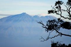 Bromo vulkan i Indonesien arkivfoton