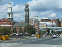 Bromo wierza w Baltimore, Maryland Zdjęcia Royalty Free