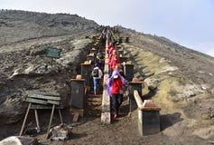 bromo wschodnia Java góra Zdjęcia Stock