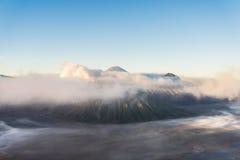 Bromo wulkan, Tengger Semeru park narodowy, Wschodni Jawa, Indonesi Obraz Royalty Free