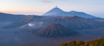 Bromoberg, Indonesië stock afbeelding