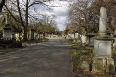 Brompton Cemetery In London Stock Image