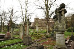 Free Brompton Cemetery Is A London Cemetery In The Royal Borough Of Kensington And Chelsea Royalty Free Stock Image - 171489316