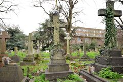 Free Brompton Cemetery Is A London Cemetery In The Royal Borough Of Kensington And Chelsea Royalty Free Stock Photography - 171489337