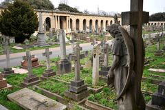 Free Brompton Cemetery Is A London Cemetery In The Royal Borough Of Kensington And Chelsea Stock Photo - 171494600