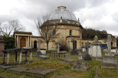 Brompton Cemetery in London Royalty Free Stock Photography